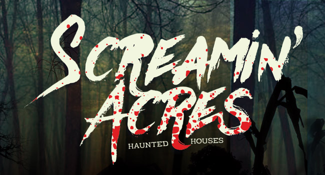 Screamin Acres haunted house in Stoughton