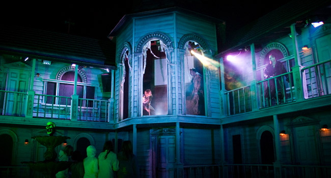 Terror on the Fox haunted house in Green Bay