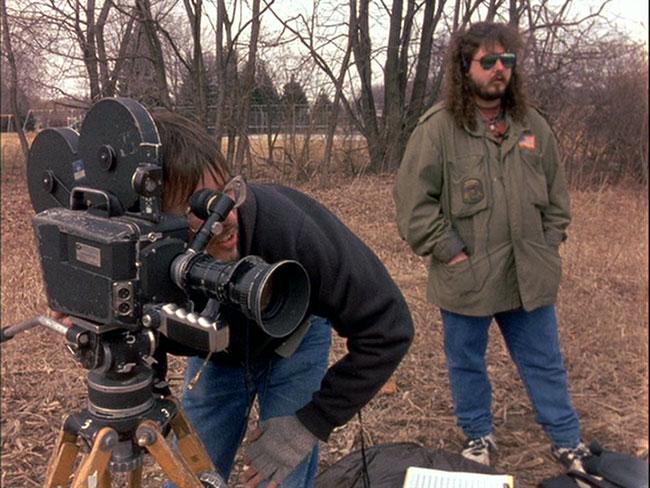 Wisconsin horror filmmaker Mark Borchardt in American Movie