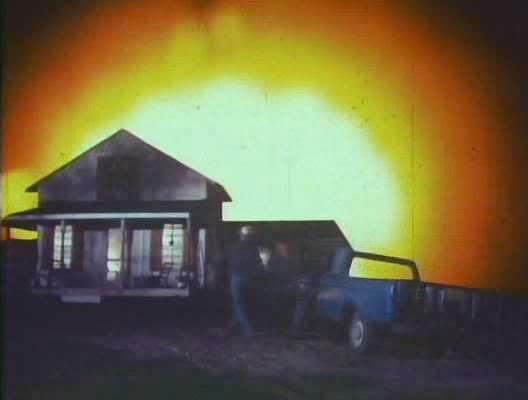 A meteorite crashes in rural Wisconsin