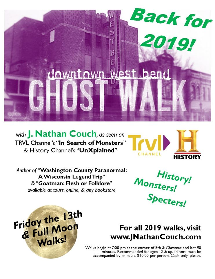 Downtown West Bend Ghost Walks