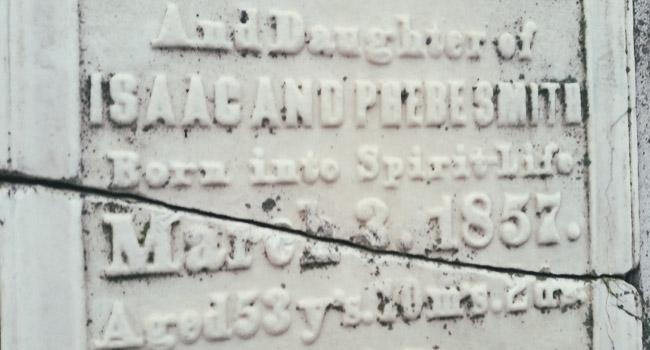 The Tallmadge family graves