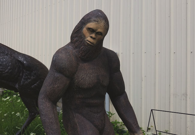 Bigfoot at M. Schettl Sales in Oshkosh
