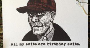 Ed Gein Birthday Card