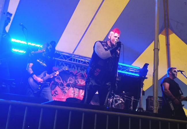 Milwaukee horror punk band Ratbatspider