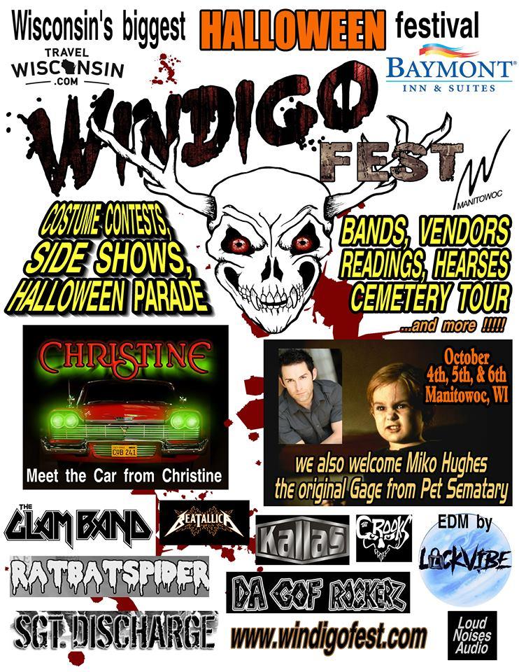 Windigo Fest Halloween festival in Manitowoc, Wisconsin